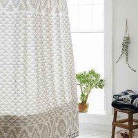 4040 Locust Pyramid Geo Shower Curtain