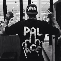 Palace series of vertical fingers male and female short sleeves [10215232967]