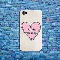 Future Mrs Taylor Caniff Cute Pink Heart Boyfriend iPhone Case iPod Cool Boy Fun