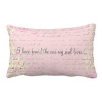 Vintage Romantic Damask with Bible Verse