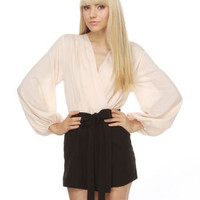 Blaque Label Romper - Pink and Black Romper - $83.00