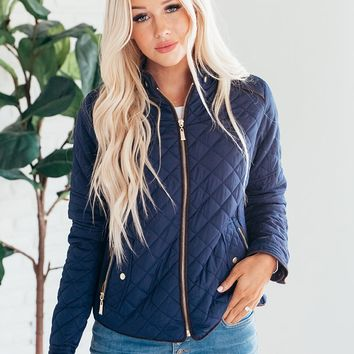 Quilted Jacket - More Colors