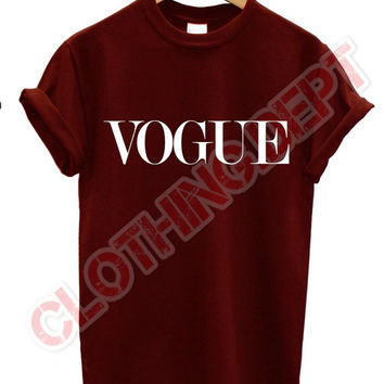 vogue t shirt celine celfie vogue trend swag dope mean girls more issues morning person unisex all colours