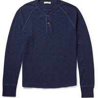 Alex Mill - Waffle-Knit Cotton Henley T-Shirt | MR PORTER