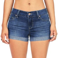 Overcast Low-Rise Denim Shorts