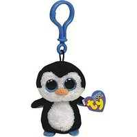 Waddle The Penguin Ty Beanie Boos Clips Keychain