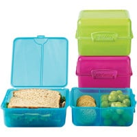 The Container Store > Colorful Klip-It® Lunch Cube-to-Go