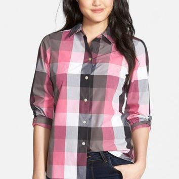 Women's Foxcroft Multicolor Buffalo Check Shirt
