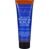 Sheamoisture Wash And Scrub - Three Butters - Men - 8 Oz