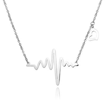 """Your heartbeat"" Necklace"