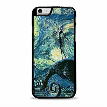 Jack Skellington van gohg movies cartoon Iphone 6 plus Cases
