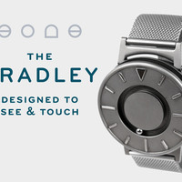 The Bradley: A Timepiece Designed to Touch and See