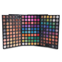 180 Colors Eyeshadow Makeup Eyeshadow Palette Comestic Tender 3 Layer Make Up Eye Shadow Full Size Luminous Set Kit