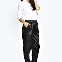 Ayla Silk Look Luxe Joggers