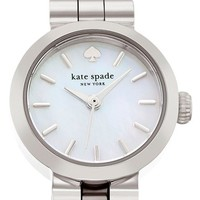 Women's kate spade new york 'tiny gramercy' bracelet watch, 20mm - Silver