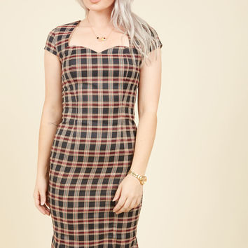 The Era of Your Ways Sheath Dress | Mod Retro Vintage Dresses | ModCloth.com