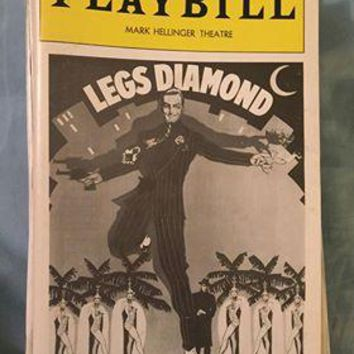 Legs Diamond Playbill