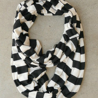 Vibrant Borders Infinity Scarf [4786] - $12.00 : Vintage Inspired Clothing & Affordable Dresses, deloom   Modern. Vintage. Crafted.
