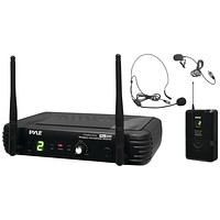 Pyle Pro Premier Series Professional Uhf Wireless Body-pack Transmitter Microphone System