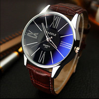 Fashion Men's Watch 4 Colors Dress Watches Male Drop Shipping with ePacket or China Post Registered Air Mail