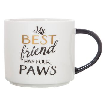 My Best Friend Has Four Paws Stackable Coffee Mug