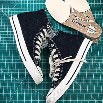 17aw Converse Chuck Taylor All Star Hi Addict Vibram Black Sneakers - Best Online Sale
