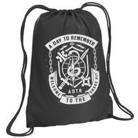 A Day To Remember: Snake Pit Drawstring Backpack