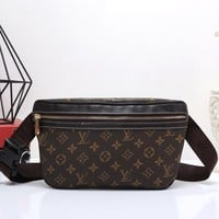 Tagre™ Louis Vuitton Women Shopping Leather Purse Waist Bag Single-Shoulder Bag Crossbody