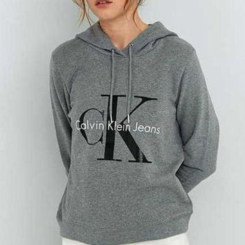 CREYUP0 Calvin klein Long Sleeve Pullover Sweatshirt Top Sweater Hoodie2