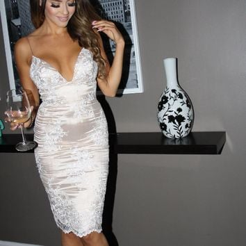 Champagne and Strawberries Dress