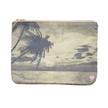 CAMERON HAWAII Large Clutch - Island Sunrise Ash