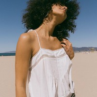 UO Cropped Swing Cami   Urban Outfitters