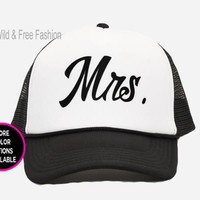 Mr and Mrs Trucker Hats