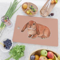 Red rabbit ram Cutting Board by savousepate