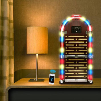 Northwest Big Bluetooth Juke Box Speaker System - Lights