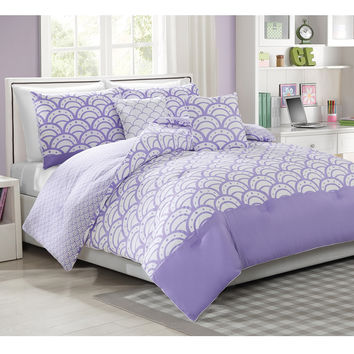 Sylvana 5-piece Reversible Comforter Set | Overstock.com Shopping - The Best Deals on Teen Comforter Sets