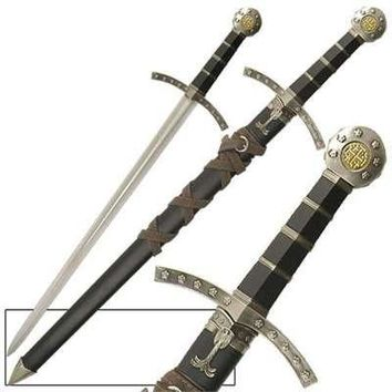 Crusader Knights Of Templar Short Sword Dagger