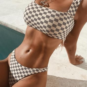 London Checker Bikini