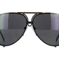 PORSCHE DESIGN 8478 D INTERCHANGEABLE LENSES (BLACK GREY + SILVER)