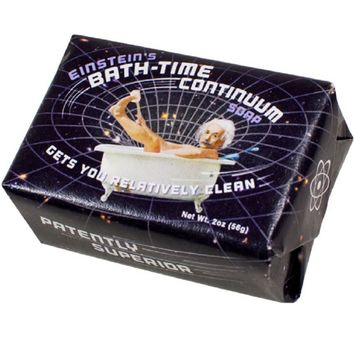 Einstein's Bath Time Continuum Soap