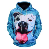 REVERIE PLANET Dog Face UNISEX HOODIE