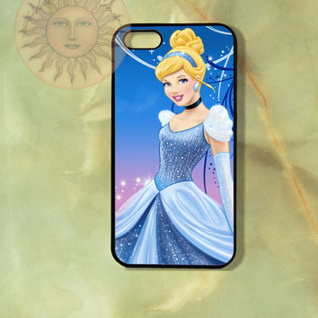 Cinderella Case-iPhone 5, 5s, 4s, iphone 4 case, ipod 5, Samsung GS3, GS4-Silicone Rubber or Hard Plastic Case, Phone cover