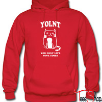 You Only Live Nine Times YOLNT Hoodie