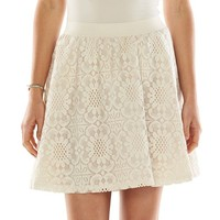 LC Lauren Conrad Lace Skirt - Women's