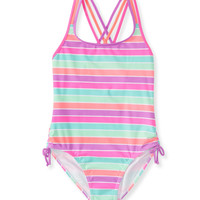 PS from Aero  Kids' Multistripe One-Piece Swimsuit