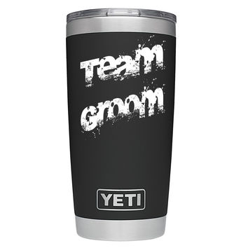 YETI 20 oz Team Groom - Wedding Party Gift Tumbler Rambler