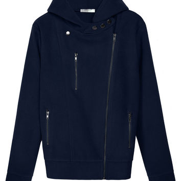 Long Sleeve Hoodie with Zip