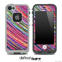 Abstract Neon Color Strokes Skin for the iPhone 5 or 4/4s LifeProof Case