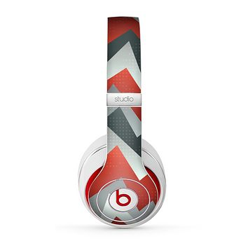 The Abstract ZigZag Pattern v4 Skin for the Beats by Dre Studio (2013+ Version) Headphones-Recovered