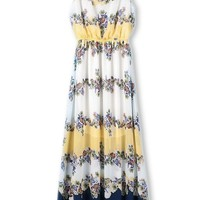 Flimsy Boho Floral Dress - OASAP.com